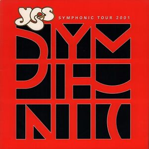 YES-2001-SYMPHONIC-TOUR-CONCERT-PROGRAM-BOOK-BOOKLET-JON-ANDERSON-NMT-2-MNT
