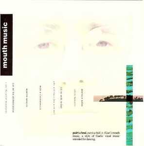MOUTH MUSIC s/t CD Gaelic/Folk/World Music – on Rykodisc