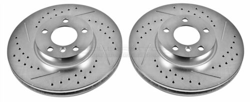 EBR852XPR Extreme Performance Drilled and Slotted Brake Rotors Front