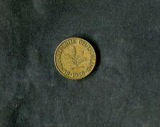 Alemania: 1950 moneda de 10 Pfennig