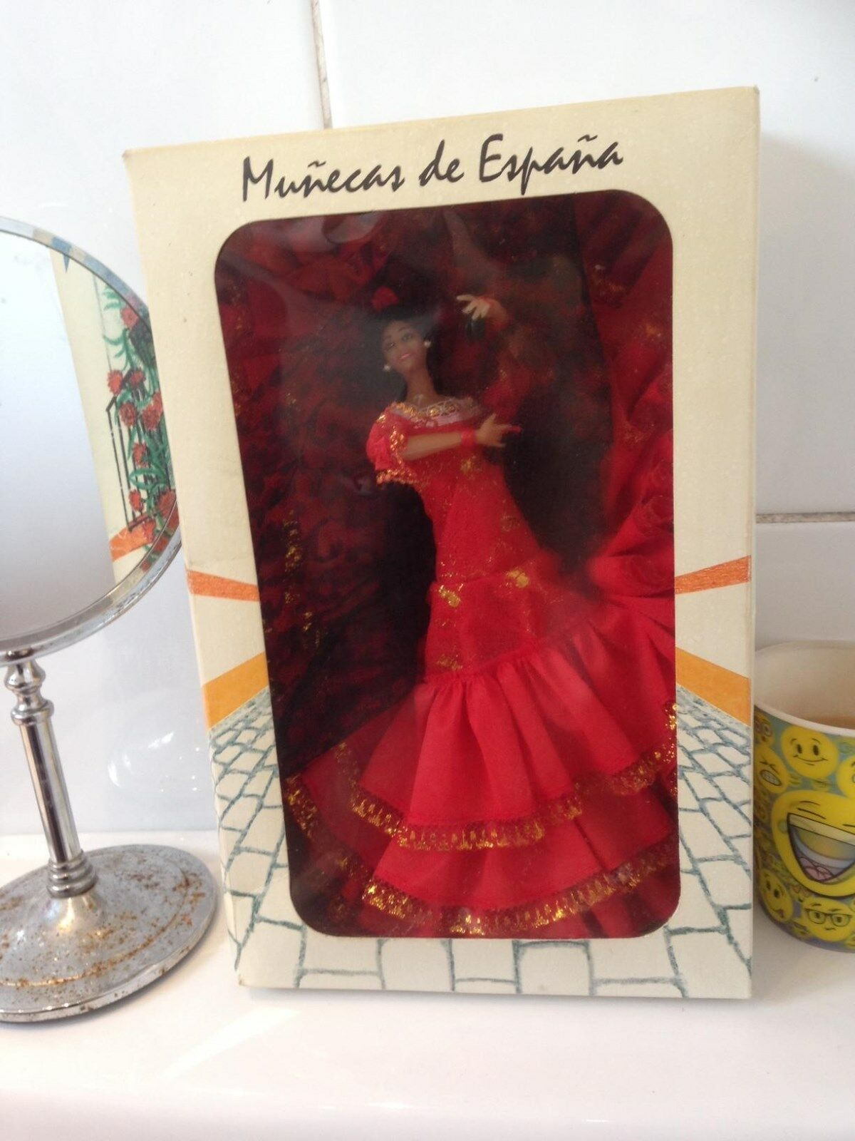 SPANISH DOLL FLAMENCO 12 INCH BOXED EXCELLENT CONDITION 1970S