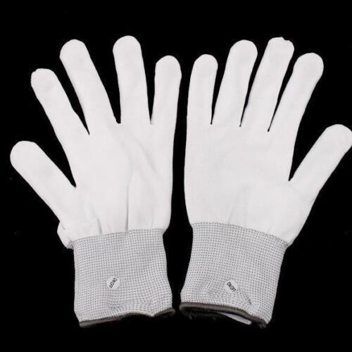 DEL Clignotant Gants rave electro Squelette 7 Mode Noël Stocking Poussoir Glove