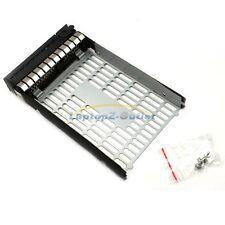 """3.5"""" LFF SAS Drive Tray Caddy + 4 Screw for HP 373211-002 ML350 G6 DL160 G5 US"""