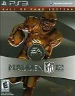 Madden NFL 12 -- Hall of Fame Edition (Sony PlayStation 3, 2011)