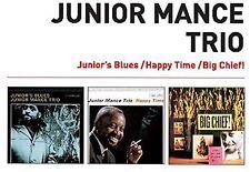 Junior Mance - Junior's Blues + Happy Time + Big Chief! [New CD] Spain - Import