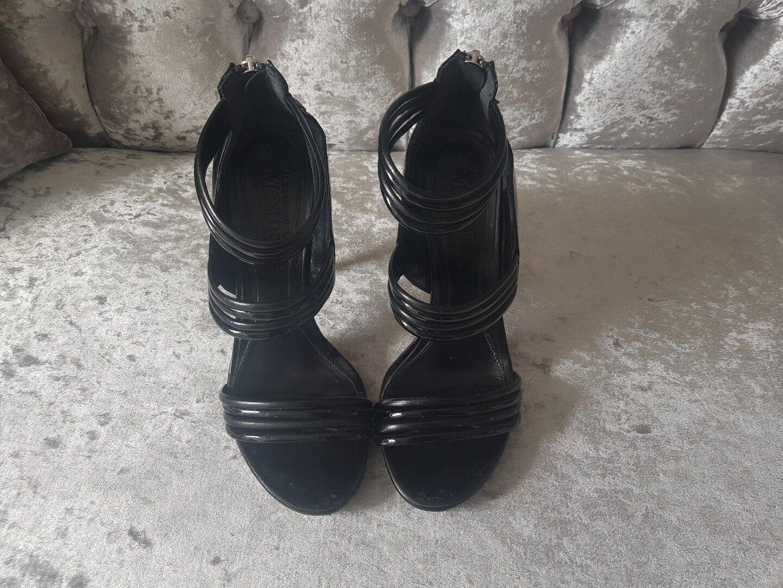 ALEXANDER MCQUEEN SANDAL PUMP 4 Schuhe EU 37, UK 4 PUMP 0cefb3