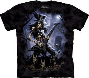 Shirt Mountain The Play Unisex Adult Dead Skulbone T Fantasy SAt6w