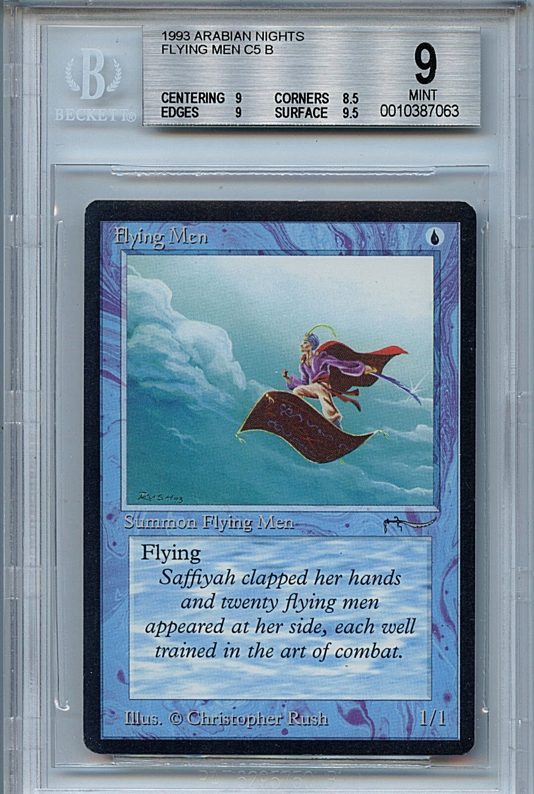 MTG Arabian Nights Nights Nights Flying Men BGS 9.0 (9) Mint  Magic the Gathering WOTC 7063 0ba5da