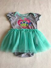 Baby Girls Clothes 9-12 Months - Cute Ninja Turtles Tutu Vest Outfit