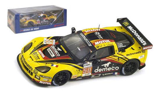 SPARK s3733 Corvette C6 Zr1   50 LM GTE AM Class Winner Le Mans 2012-scala 1/43