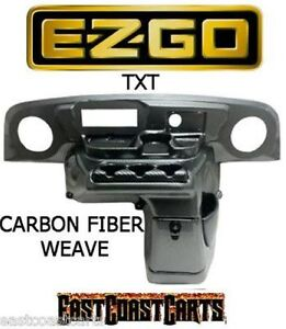 Carbon Fiber Dash Kit Yamaha Golf Cart