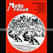 MOTO REVUE N°1987 ★ YAMAHA 100 YL 1 YL1 ★ GRAND PRIX d'ASSEN TRIAL REIMS 1970