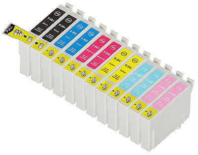 12 Pack T0981-T0986 Combo Ink Cartridge For Epson Artisan 700 710 725 730