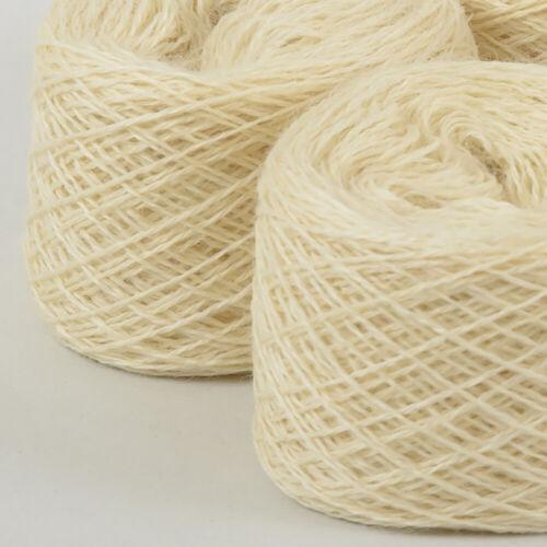 *Ball*SOFT PURE BRITISH WOOL* 2 Ply Natural Cream White Ecru yarn.knitting 100/%