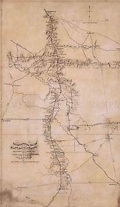 MAP-ANTIQUE-1865-WEYSS-NOLENSVILLE-CHAPEL-HILL-TENNESSEE-REPLICA-PRINT-PAM1852