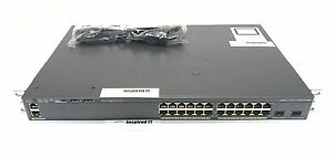 WS-C2960X-24TD-L-Cisco-Catalyst-2960X-24-GigE-2-x-10G-SFP-LAN-Base-FAST-SHIP