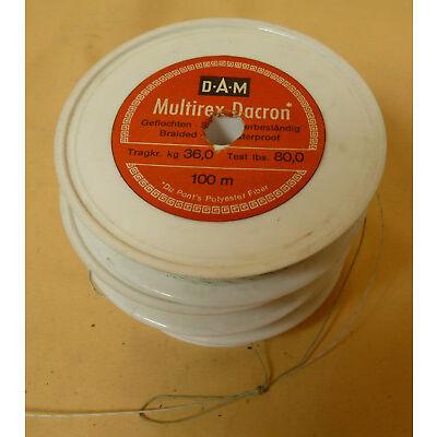 D.A.M geflochtene Angelschnur - Multirex Dracon - 36 KG  #15234