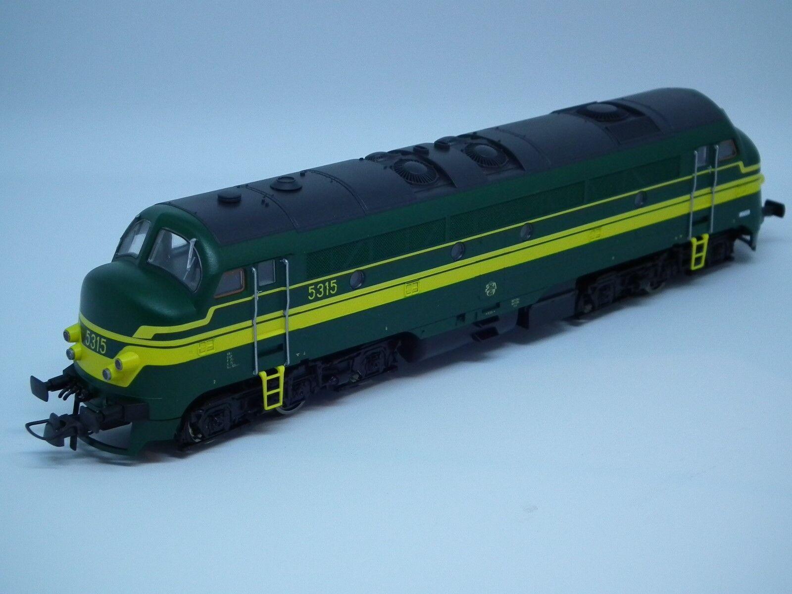 FB - Roco 68733 Diesellokomotief SNCB 5 AC Digitaal - nieuw - ovp