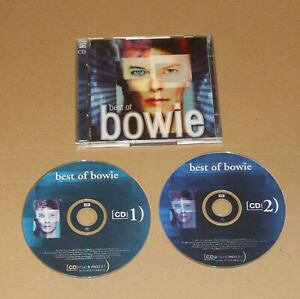 David-Bowie-Best-Of-2-x-CD-Album-UK-2002-5398212-Vg-Vg-Pop-Rock-Glam
