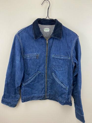 Oshkosh Bgosh Vintage 40's Denim Flannel Lined Jac