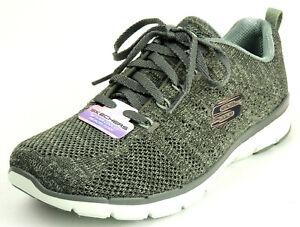 SKECHERS Damen Sneaker Flex Appeal 3.0 HIGH TIDES oliv AhxCa