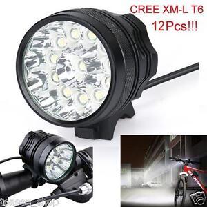 30000-Lm-12x-CREE-T6-LED-3-Modi-Fahrrad-Lampe-Licht-Scheinwerfer-Cycling-Fackel
