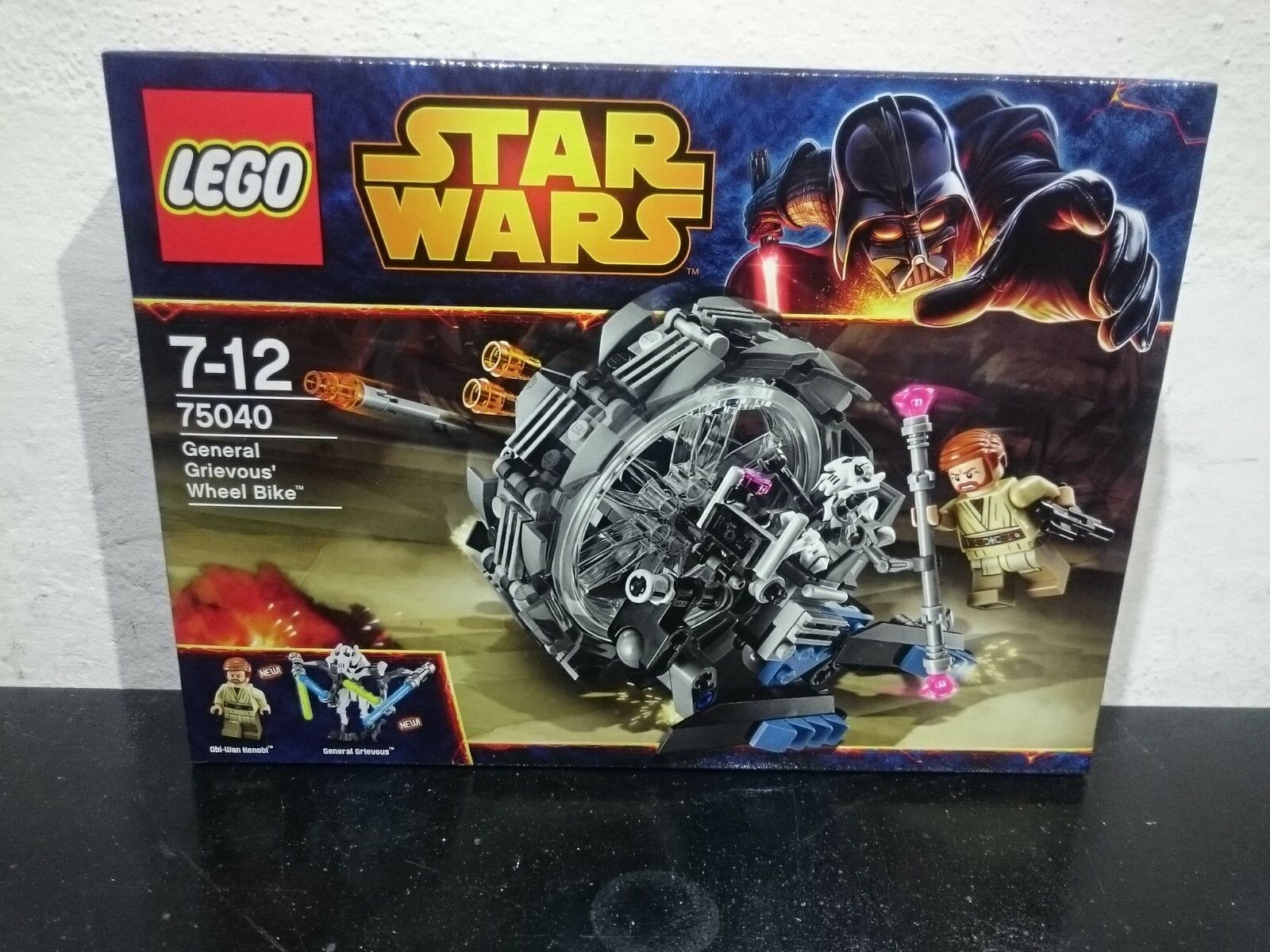 LEGO STAR WARS 75040 - GENERAL GRIEVOUS WHEEL BIKE  NUOVO,NEW,MISB,RARE