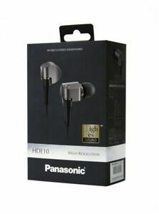 NEW-Panasonic-RP-HDE10-S-High-Resolution-In-Ear-Canal-Headphones-from-JAPAN