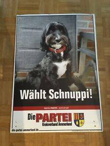 """Wahlplakat Schnuppi """"Die Partei"""""""