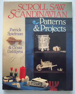 Details About Scroll Saw Scandinavian Patterns And Projects Woodworking