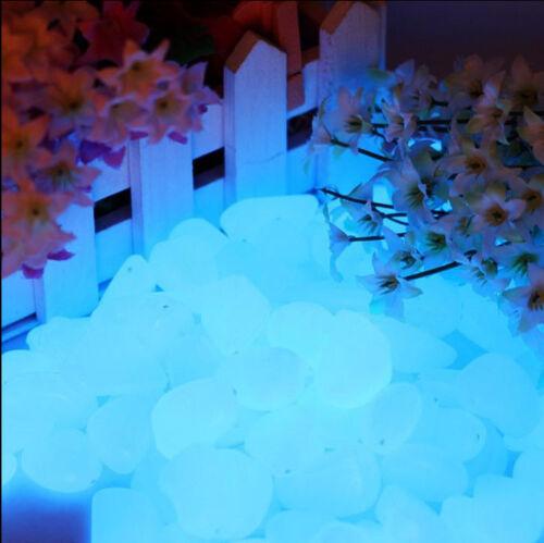 Drops Sassi luminosi di resina fotoluminescente colore Blu Sky per arredo 50//100