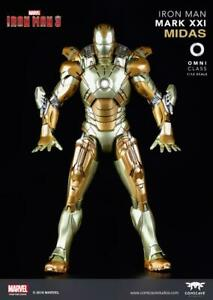 1-12-Scale-Alloy-Movable-COMICAVE-Iron-Man-MARK-7-MK21-Soldier-Action-Figure-Toy