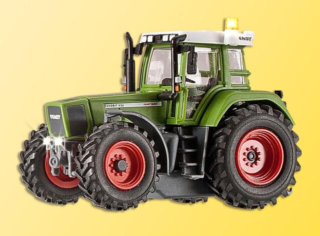 Viessmann 1166 Traktor FENDT mit Beleuchtung und gelbem Blinklicht, Fkt, H0