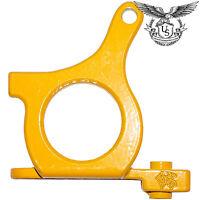 Iron Loop Tattoo Machine Frame - Yellow