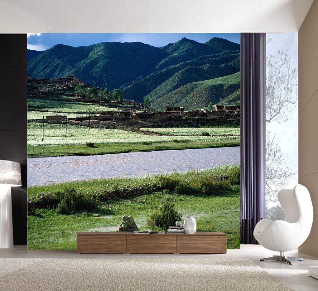 3D Burg Peak Ranch 84 Tapete Wandgemälde Tapete Tapeten Bild Bild Bild Familie DE Summer   Moderne Muster    Praktisch Und Wirtschaftlich    Exzellente Verarbeitung  a8f681