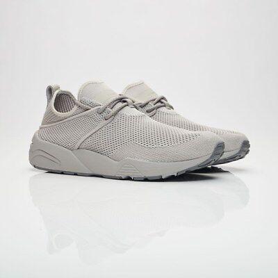 New MENS PUMA X STAMPD GRAY TRINOMIC WOVEN NYLON Sneakers Retro