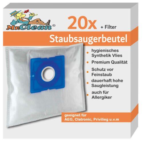 20 Mr.Clean Staubsaugerbeutel geeig Sencor SVC 45 .Sencor SVC45.BK power1400w