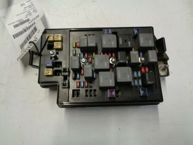 Buick Rendezvous Under Hood Fuse Box 2004 2005 2006 2007 15269736 88988592