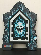 1.Serie 1 Schild Lego Nexo Knight´s blau Blitze speiender Drache