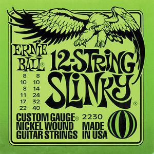 Ernie-Ball-12-Corde-Slinky-Nichel-Corde-per-Chitarra