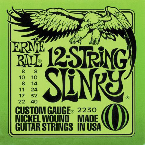 Ernie Ball 12-saiten Slinky Nickel Gitarrensaiten