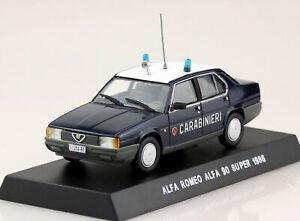 Carabinieri-Alfa-Romeo-90-Super-1986-Gazzella-1-43-Diecast