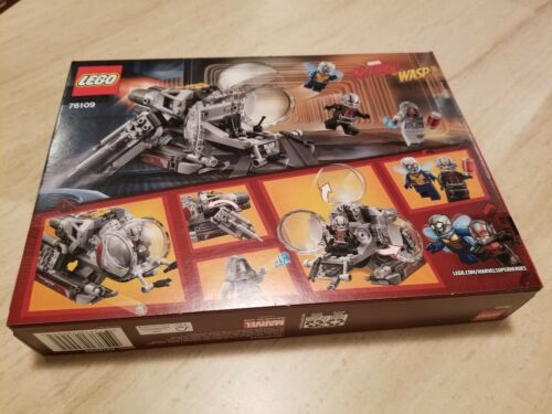 Lego 76109 Super Heroes Ant-man and the Wasp Quantum Realm brand new sealed