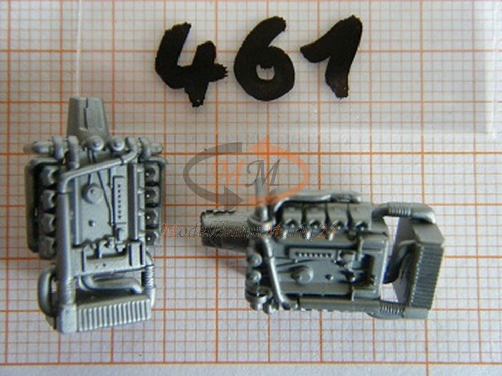 10x albedo pezzo di di di ricambio avente motore GRIGIO argentoO F. MB SELLA VALIGIA h0 1 87 - 0461 43f7e7
