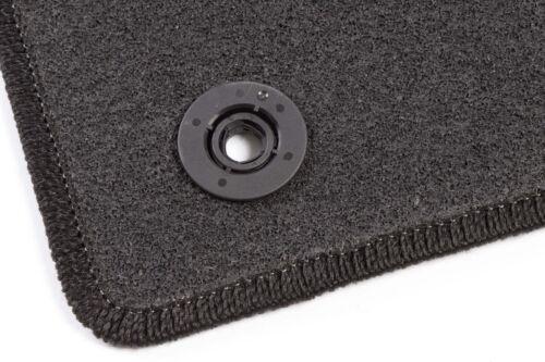 Ford Focus III 3 Bj 2010-2014  Anthrazit Graphit Textil Fußmatten