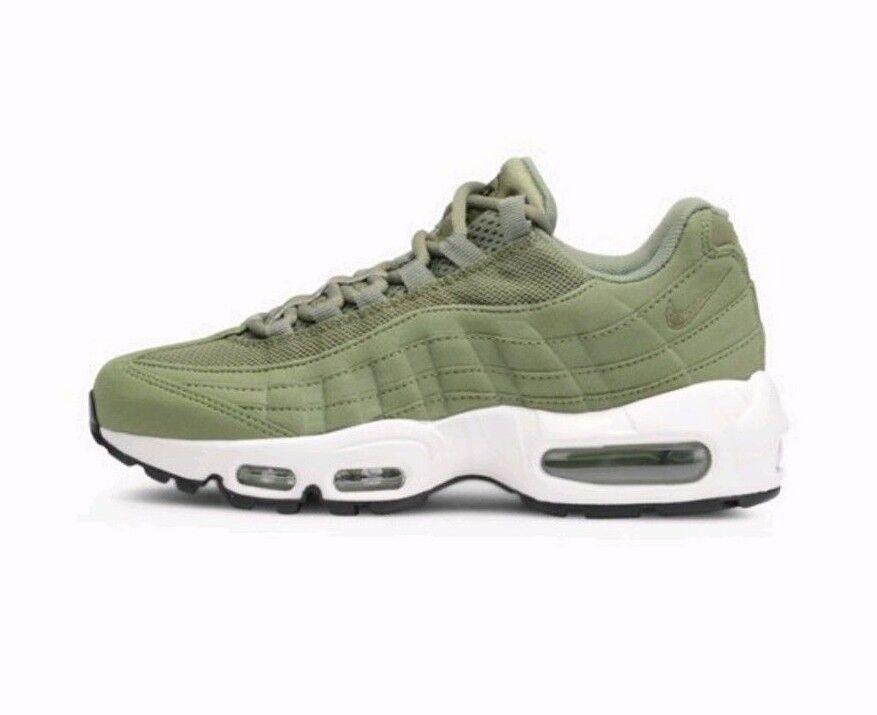 Nike AIR MAX 95 Da Donna EUR 36.5 Palm Verde 35 Classico Sneaker Trainer NEW 35 Verde 731f63