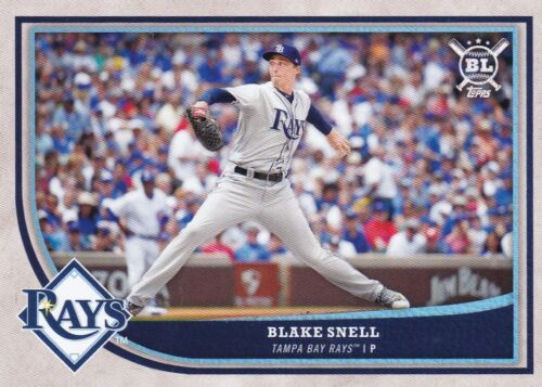 #16 Blake Snell 2018 Topps Big League Baseball Walker