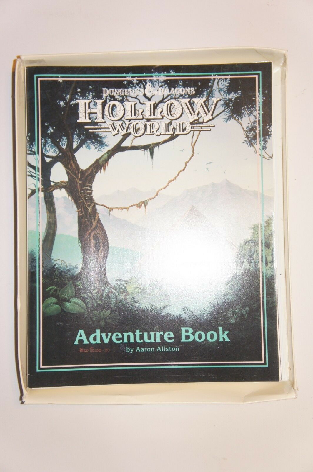 Dungeons & Dragons Hallow World - Complete - Missing Top of Box