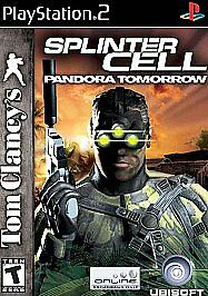 Splinter-Cell-Pandora-Tomorrow-PlayStation-2-PS2-Disc-Only-Tested