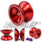 Magic YoYo T5 Red Aluminum Metal Professional Yo-Yo Toys + String For Kids S